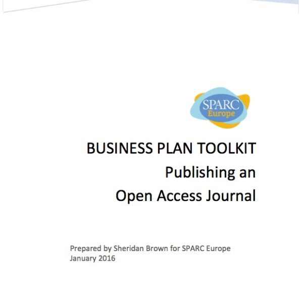 New Business Plan Toolkit for OA Journals