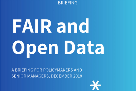 New briefing paper explores FAIR and Open Data