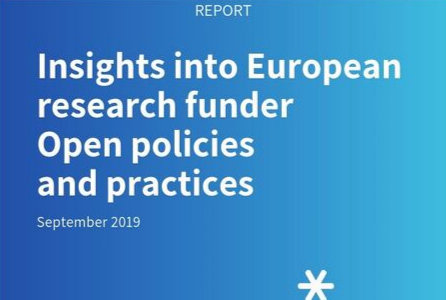 Discover how European funders are approaching Open policy and practices in new report