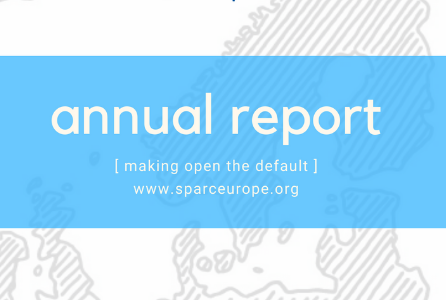 SPARC Europe's Annual Report for 2019 is released