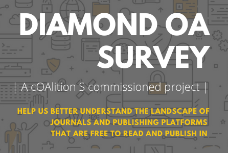 Help map the Diamond OA landscape