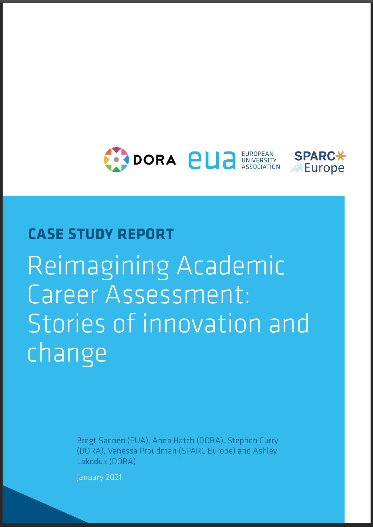 Stories of innovation and change in academic career assessment