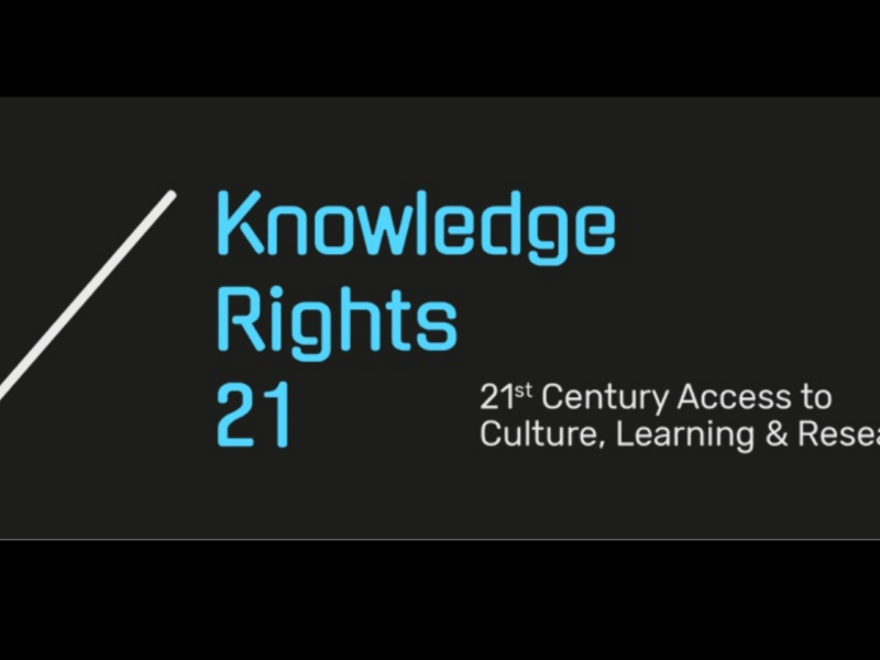 Knowledge Rights 21 project launches
